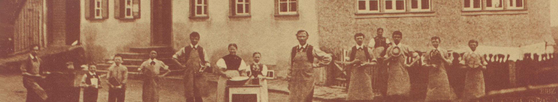 Haus Historie 1887