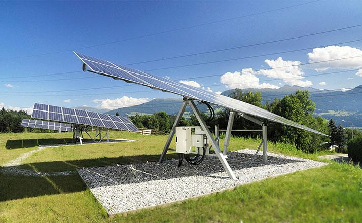 Solartechnik-Elevationsverstellung